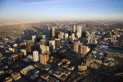 Paysage urbain de Denver, le Colorado, Etats-Unis. Images libres de droits