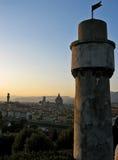 Paysage urbain de Florence Images libres de droits