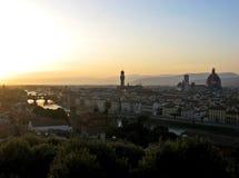 Paysage urbain de Florence Photo libre de droits