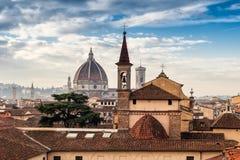 Paysage urbain de Florence Firenze Photographie stock libre de droits