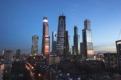 Paysage urbain de gratte-ciel Image stock