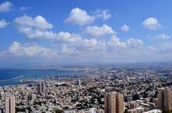 Paysage urbain de Haifa Israel photo libre de droits