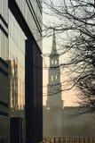 Paysage urbain de Hambourg Photos stock