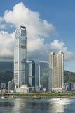 Paysage urbain de Hong Kong Image libre de droits