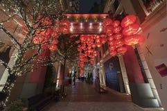 Paysage urbain de Hong Kong Photographie stock