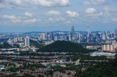 Paysage urbain de Kuala Lumpur Photo stock