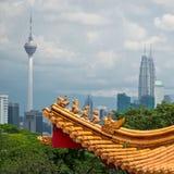Paysage urbain de Kuala Lumpur Photo libre de droits