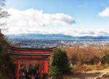 Paysage urbain de Kyoto, Japon photographie stock libre de droits