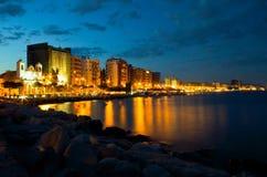 Paysage urbain de Limassol photo stock