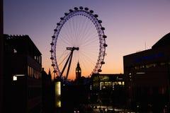 Paysage urbain de Londres Photos libres de droits