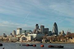 Paysage urbain de Londres Photographie stock libre de droits