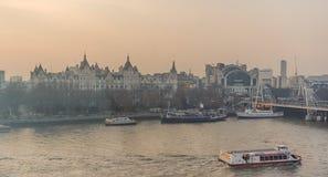 Paysage urbain de Londres, Royaume-Uni Photos stock