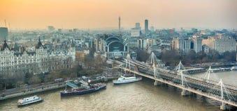 Paysage urbain de Londres, Royaume-Uni Image stock