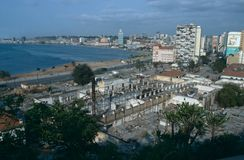 Paysage urbain de Luanda, Angola Photo stock