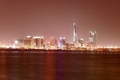 Paysage urbain de Manama Images stock