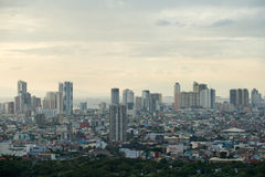 Paysage urbain de Manille, Philippines photos libres de droits