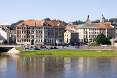 Paysage urbain de Meissen dans un jour ensoleillé Image stock