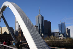 Paysage urbain de Melbourne Images stock