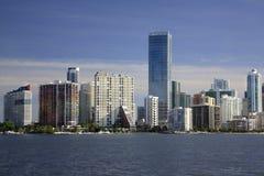 Paysage urbain de Miami images stock