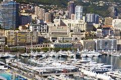 Paysage urbain de Monte Carlo Image stock