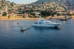 Paysage urbain de Monte Carlo, Monaco Image libre de droits