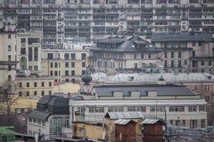 Paysage urbain de Moscou Images libres de droits