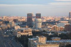 Paysage urbain de Moscou Photo stock