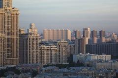 Paysage urbain de Moscou Photos libres de droits