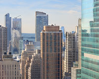 Paysage urbain de New York Photo stock