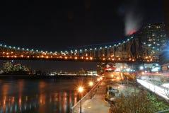 Paysage urbain de nuit, Hall Photos stock