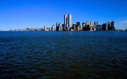 Paysage urbain de NY Images stock