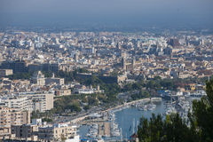 Paysage urbain de Palma de Majorque, Espagne Photographie stock