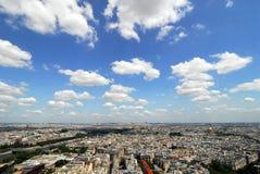 Paysage urbain de Paris Photos libres de droits