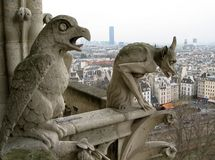 Paysage urbain de Paris image stock
