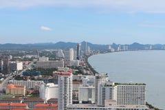 Paysage urbain de Pattaya Photos stock
