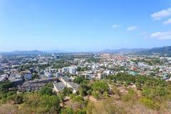 Paysage urbain de Phuket Photo stock