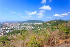 Paysage urbain de Phuket Photographie stock libre de droits