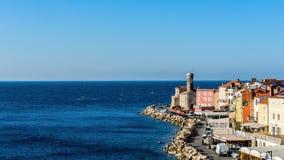 Paysage urbain de Piran Images libres de droits
