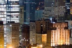 Paysage urbain de Pittsburg Photographie stock libre de droits