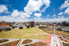 Paysage urbain de Port Elizabeth image stock