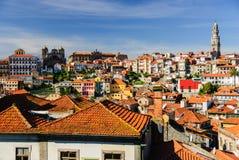 Paysage urbain de Porto, Portugal Images libres de droits