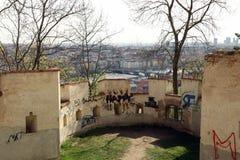 Paysage urbain de Prague, l'Europe Image libre de droits