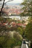 Paysage urbain de Prague, l'Europe Image stock
