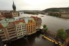 Paysage urbain de Prague, l'Europe Photos stock