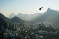 Paysage urbain de Rio de Janeiro Images libres de droits