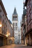 Paysage urbain de Rouen Photographie stock libre de droits