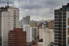Paysage urbain de São Paulo Photos stock