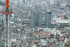 Paysage urbain de Séoul Photos libres de droits