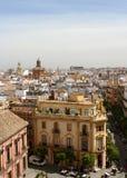 Paysage urbain de Séville photos libres de droits