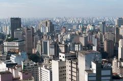 Paysage urbain de Sao Paulo Photos stock